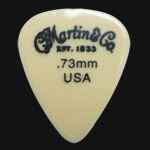 C F Martin Number 4 Nylon 0.73mm Guitar Picks