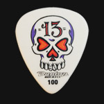 Dunlop Blackline Original Skull 1.00mm Guitar Picks
