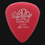 Dunlop Delrin 500 Standard 0.96mm Dark Pink Guitar Picks