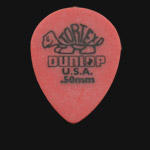Dunlop Tortex Small Tear Drop 0.50mm Red Guitar Picks