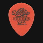 Dunlop Tortex Small Tear Drop 0.60mm Orange Guitar Picks