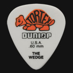 Dunlop Tortex Wedge 0.60mm Orange Guitar Picks