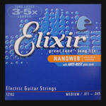Elixir Nanoweb Electric Guitar Strings .011 - .049